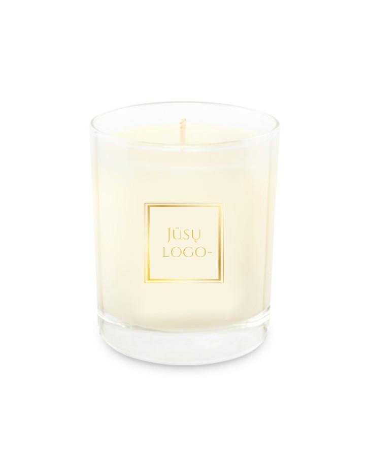 Žvakė su LOGO ar individualaus dizaino lipduku